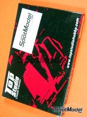 Top Studio: Set de mejora y detallado escala 1/20 - McLaren Mercedes MP4/13 West Nº 9, 10 - Mika Häkkinen (FI), David Coulthard (GB) - Campeonato del Mundo de Formula 1 1998 - fotograbados y piezas metálicas - para kits de Tamiya TAM20046, TAM20047 o TAM89718