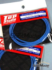 Top Studio: Pipe - Shrink tube 2.0mm x 2.00 m - Blue color - other materials