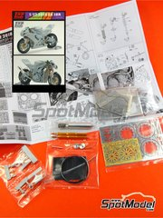 Top Studio: Detail 1/12 scale - Kawasaki ZX-10R - for Fujimi kit