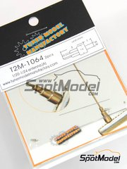 Tuner Model Manufactory: Detail 1/24 scale - Antenna - metal pieces - 2 units