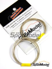 Tuner Model Manufactory: Detail - Metallic braid line approx 1.10x500mm