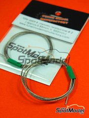 Tuner Model Manufactory: Detail - Metallic twisted line 0.85 mm x 500 mm