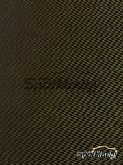 Tuner Model Manufactory: Decals - Twill weave carbon fiber -  S - Golden + black - 137mm x 189mm