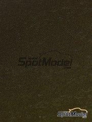 Tuner Model Manufactory: Decals - Twill weave carbon fiber -  XS - Golden + black - 137mm x 189mm
