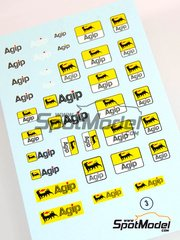 Virages: Decals 1/24 scale - Agip logos