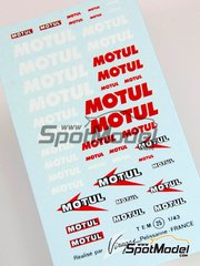 Virages: Decals - Motul logos