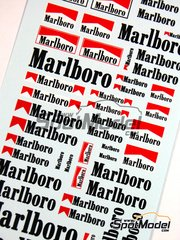 Virages: Logotypes 1/24 scale - Marlboro - water slide decals