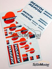 Virages: Logotypes - Repsol - water slide decals