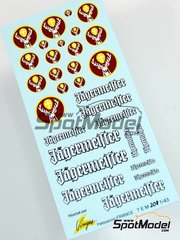 Virages: Logotypes 1/43 scale - Jagermeister Jagermeister - water slide decals