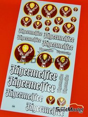 Virages: Logotipos escala 1/24 - Jägermeister Jagermeister