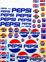 Virages: Logotypes 1/24 scale - Pepsi - water slide decals