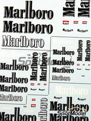 Virages: Logotypes - Marlboro 2004 - water slide decals