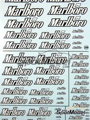 Virages: Decals - Marlboro logos 2007