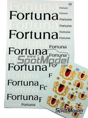 Virages: Logotypes - Fortuna - water slide decals