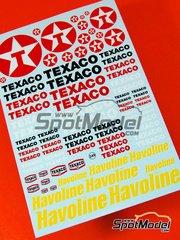 Virages: Logotipos - Texaco Havoline - calcas de agua