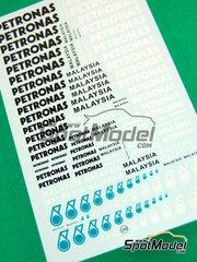 Virages: Logotipos - Petronas - calcas de agua