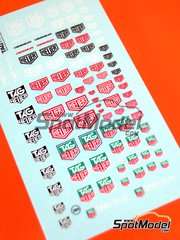 Virages: Logotypes 1/24 scale - Tag Heuer - water slide decals