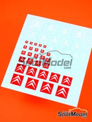 Virages: Logotypes 1/24 scale - Citroën - decals image