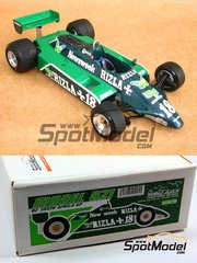 Wolf Models: Model car kit 1/20 scale - March 821 Rizla #18 - South African Grand Prix 1982 - resin multimaterial kit