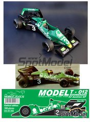 Wolf Models: Model kit 1/25 scale - Tyrrell Ford 012