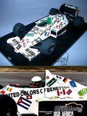 Wolf Models: Model kit 1/25 scale - Toleman TG185