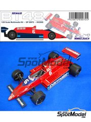 Wolf Models: Model kit 1/25 scale - Brabham Alfa Romeo BT48