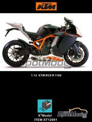 X3 Model: Model bike kit 1/12 scale - KTM RC8