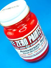 Paint by Zero Paints - Ducati Anniversary Red 473.101 MotoGP Bike - 60ml for Airbrush