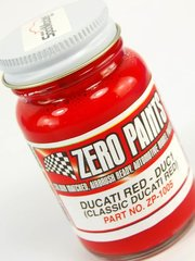Zero Paints: Paint - Ducati Classic Red - Code: DUC01 - 1 x 60ml - for Airbrush