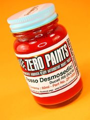 Zero Paints: Paint - Ducati Rosso Desmosedici RR - Code: DUC46  - 1 x 60ml - for Airbrush