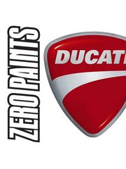 Zero Paints: Paint - Ducati Matt Black Monster  - Code: DUC9D - 1 x 60ml - for Airbrush