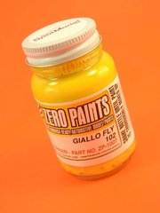 Zero Paints: Paint - Ferrari Giallo Fly - 1982 -Onwards - Code: 102 - 1 x 60ml - for Airbrush image