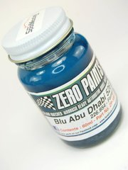 Zero Paints: Paint - Ferrari Blu Abu Dhabi 526 - 2007 - Colour Code: 226.954 - 60ml - for Airbrush