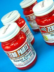 Zero Paints: Paint - Ferrari 300 Rosso Corsa Red - 1 x 60ml - for Airbrush