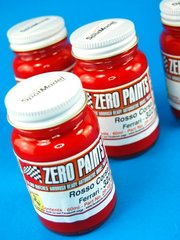 Zero Paints: Paint - Ferrari 322 Rosso Corsa - Red - 1 x 60ml - for Airbrush