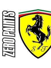 Zero Paints: Paint - Ferrari Azzurro Ferrari - Met - Code: 515C - 60 ml - for Airbrush