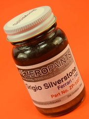 Zero Paints: Paint - Ferrari Grigio Silverstone - Code: 740 - 60 ml - for Airbrush image