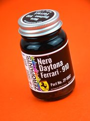 Zero Paints: Paint - Ferrari Nero Daytona Metallic Black - Code: 910 - 60 ml - for Airbrush