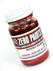 Zero Paints: Paint - Ferrari Rosso Rubino R9 - Code: R9 - 60 ml - for Airbrush