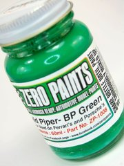 Zero Paints: Pintura - David Piper BP - Verde - Green - 1 x 60ml - para Aerógrafo