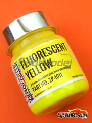Zero Paints: Paint - Fluorescent Yellow - 1 x 60ml - for Airbrush