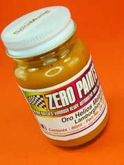 Zero Paints: Paint - Lamborghini Oro Helios Metallic - Code: 0074 - 1 x 60ml - for Airbrush