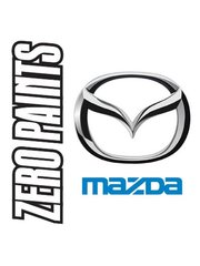 Zero Paints: Paint - Mazda Brilliant Black RX8  - Code: A3F - 60ml - for Airbrush