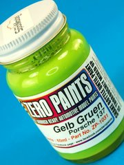 Zero Paints: Paint - Porsche Gelb Gruen 1973 - 1976 - Code: 137 - 1 x 60ml - for Airbrush