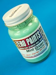 Zero Paints: Paint - Porsche Mintgruen - Mint Green - 60ml - for Airbrush
