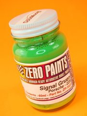 Zero Paints: Paint - Porsche Signal Gruen 1990-1993 - Code: 22S - 1 x 60ml - for Airbrush