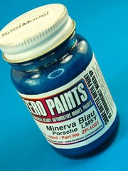 Zero Paints: Paint - Porsche Minerva Blau VW L M5Y 1976 - 1981 - Code: 304 - Metallic blue - 60ml - for Airbrush