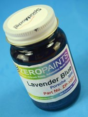Zero Paints: Paint - Porsche Lavender Blue  - Code: 38W - 60ml - for Airbrush