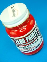 Zero Paints: Pintura - Rojo - Porsche Guards Red 80K - 1 x 60ml - para Aerógrafo