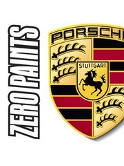 Zero Paints: Paint - Porsche Polar Silver Metallic  - Code: 92M - 1 x 60ml - for Airbrush